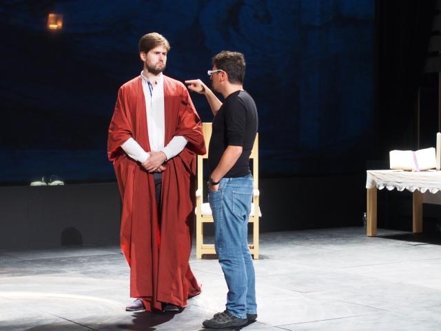 Guilhem Terrail avec Francesco Filidei