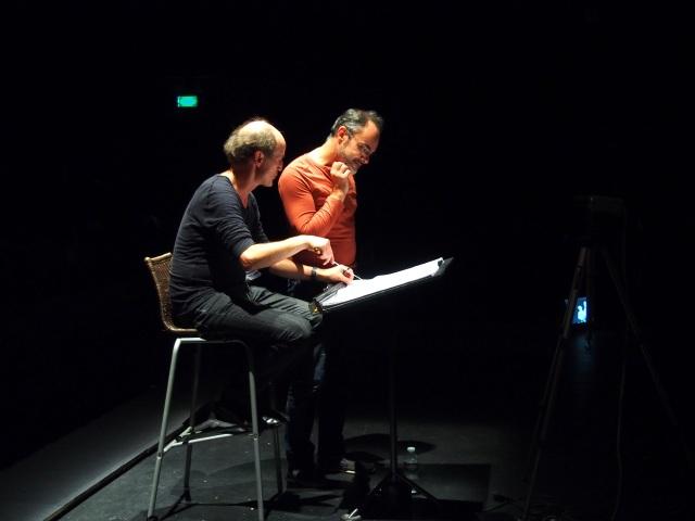 Peter Rundel avec Lionel Peintre